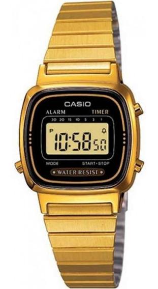 Promoção Relógio Casio Vintage Original La670wga-1df