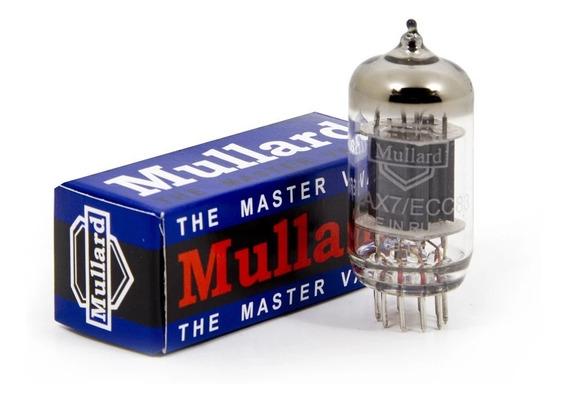 Válvula Mullard 12ax7 Preamplificador