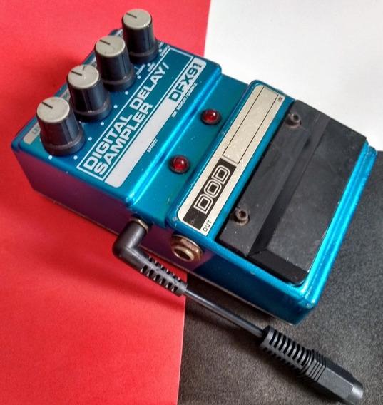Dod Dfx91   Digital Delay/sampler   Pedal Delay   Dod Eua