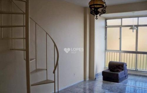 Cobertura Com 3 Quartos Por R$ 400.000 - Centro - Niterói/rj - Co2973