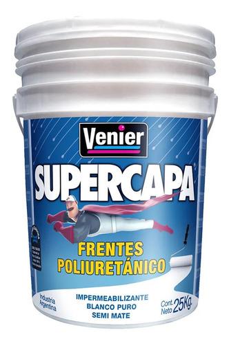 Supercapa Frentes Poliuretanico 25 Kg Venier  Bco Universo P