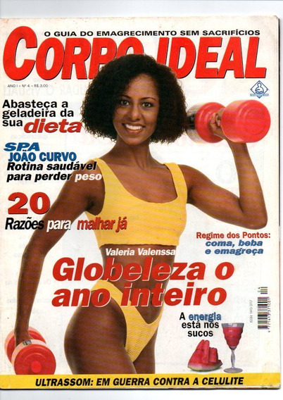 Revista Corpo Ideal Valeria Valenssa Globeleza Nº04 (1096)