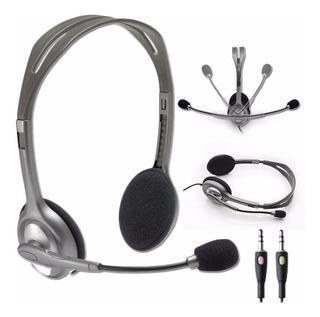 Auricular Logitech H110 (2 Plug)
