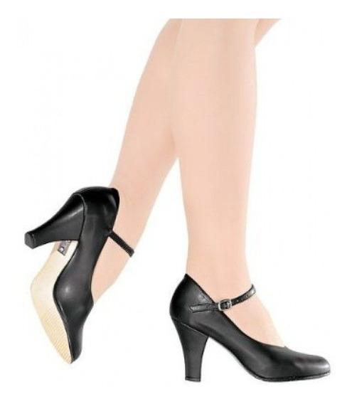 Sapato Dança De Salão Só Dança Napa Salto 7cm Sem Juros
