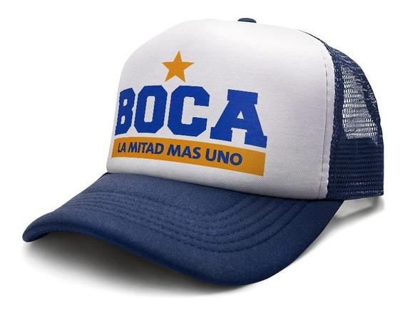 Gorras Trucker Camionera Boca Juniors Futbol Custom