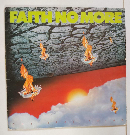 Lp Vinil - Faith No More - The Real Thing
