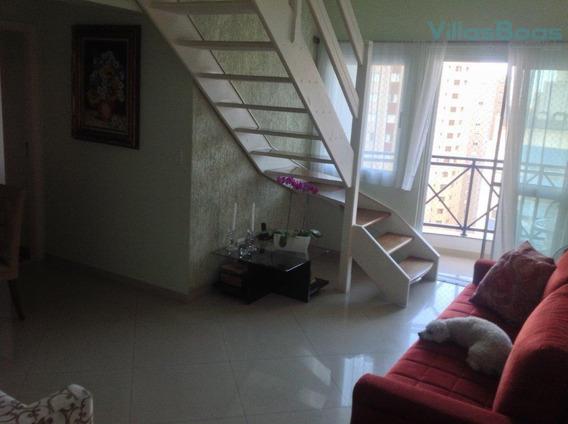 Cobertura Com 3 Dormitórios À Venda, 166 M² Por R$ 750.000 - Jardim Aquarius - São José Dos Campos/sp - Co0005
