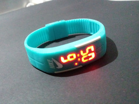 Relogio Nike Digital Pulseira De Silicone