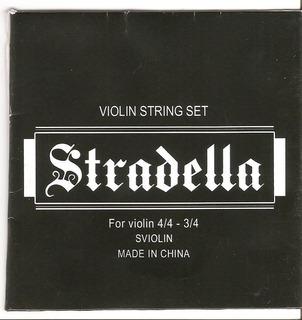 Encordado De Violin Stradella Sviolin
