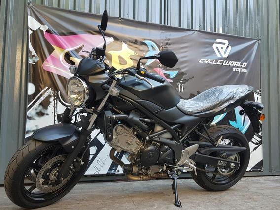 Moto Suzuki Sv 650 Motor En V Naked 0km 2018 Llevala Al 19/7