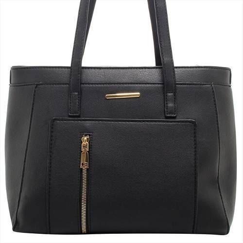 Bolsa Feminina Preta Pequena Elegante Lançamento Qualidade