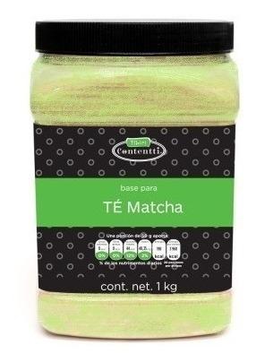 Te Matcha 1 Kg Extracto Verde Fácil Preparación