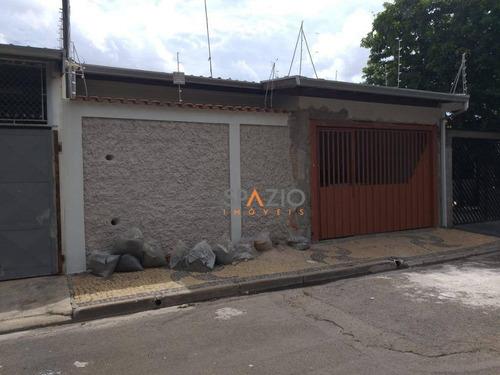 Imagem 1 de 9 de Casa Com 3 Dormitórios À Venda, 120 M² Por R$ 320.000 - Conjunto Habitacional Arco-íris (cecap) - Rio Claro/sp - Ca0452