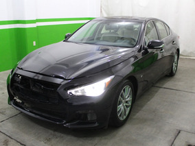 Disauto Infiniti Q50 Seduction V6 Piel Gps Bose Qc Leds 2016