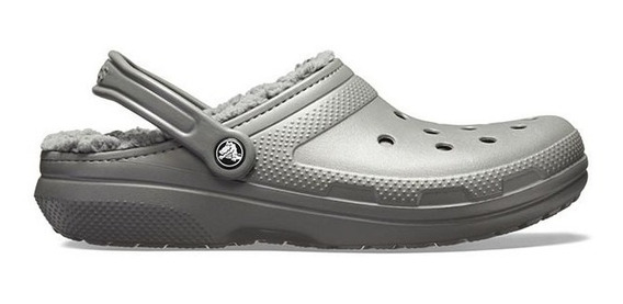 Crocs Originales Corderito Classic Lined Slate Grey Smoke