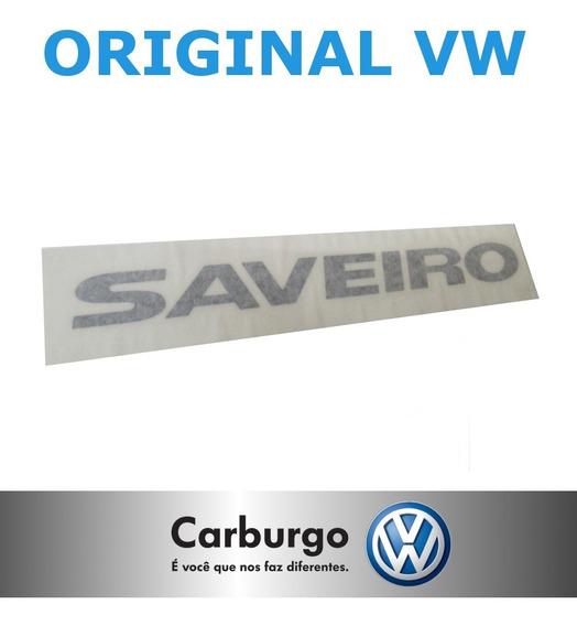 Emblema Adesivo Letreiro Saveiro G5 G6 - Original Volkswagen