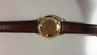 Reloj Gucci Para Hombre 5100 M Dorado Sin Uso Malla Cuero