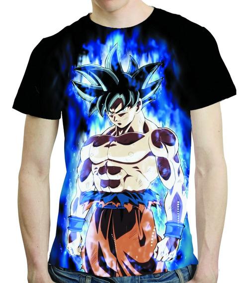 Camisa Dragon Ball Super Camisata Goku - Estampa Total