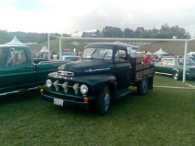 Camioneta Ford F-600 1952