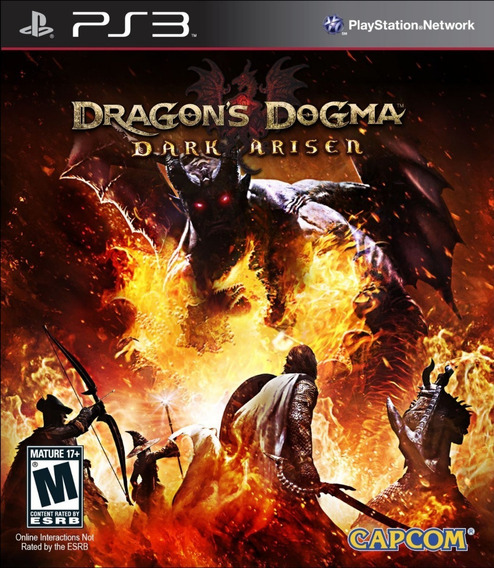 Dragons Dogma Dark Arisen Rpg - Jogos Ps3 Playstation 3