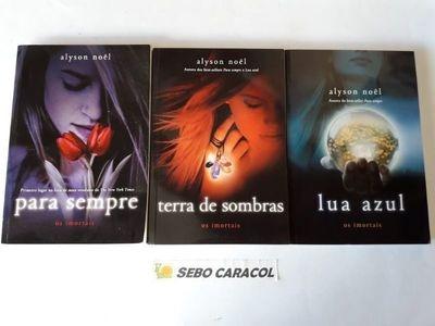 Os Imortais 3 Volumes: Lua Azul, Para Sempre E Terra De S...