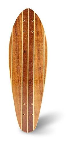 Skate Longboard Mini Marfim Para Freeride E Cruise