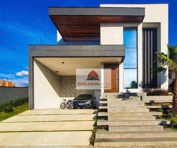 Casa Com 3 Dormitórios À Venda, 310 M² Por R$ 2.300.000,00 - Urbanova - São José Dos Campos/sp - Ca0740