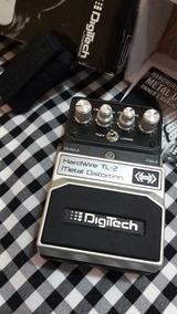 Pedal Metal Distortion Tl-2 Hardwire Digitech.