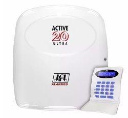 Central Alarme Monitorada Active 20 Ultra Jfl Sem Modulo Net