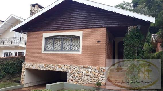 Casa Para Venda Em Campos Do Jordão, Vila Paulista, 2 Dormitórios, 1 Suíte, 1 Banheiro - 265