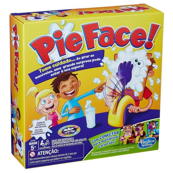 Jogo Interativo Hasbro Torta Na Cara Pie Face