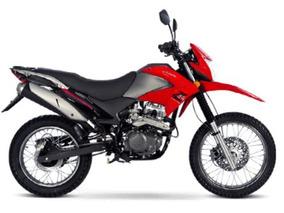 Zanella Zr 200 Ohc 2018 0km Zr200 Enduro Nueva Rojo 999 Moto