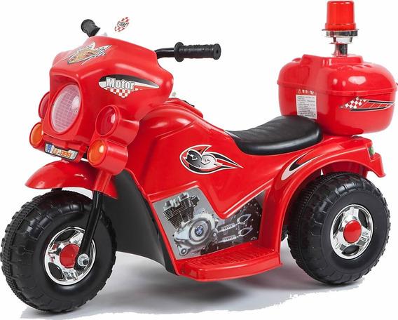 Moto 3 Ruedas A Bateria Juguete Niño Policia Love 3003 Music