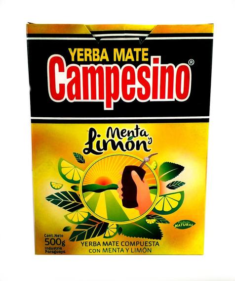 Yerba Mate Campesino Menta-limón 3 Kilos