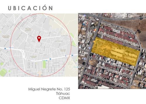 Terreno Para 98 Viviendas En Del. Tláhuac