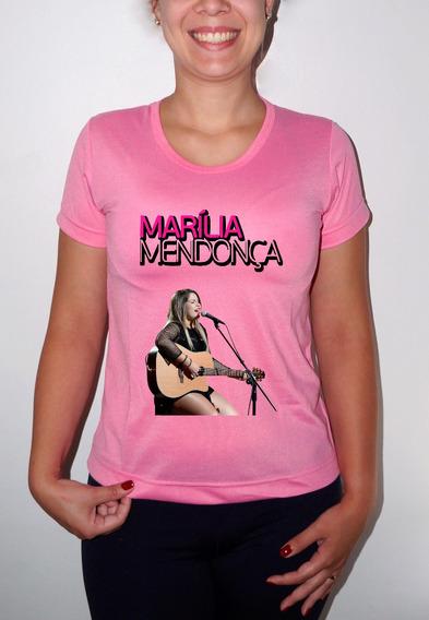 Camiseta Ou Baby Look Marília Mendonça