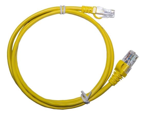 Cabo Internet Amarelo Rj-45 Rede 1,5m