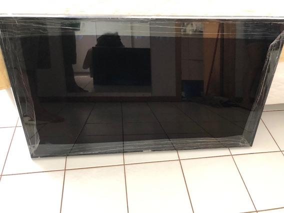 Tv Samsung 55 Polegadas Com Tela Led Queimada