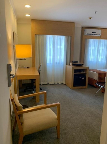 Imagem 1 de 6 de Flat Para Alugar, 29 M² Por R$ 3.200,00/mês - Nova Piraju - São Paulo/sp - Fl0100