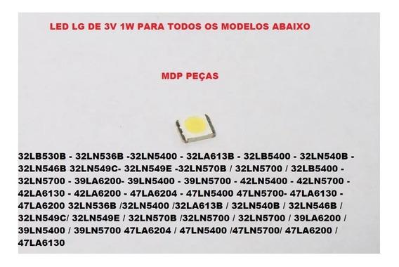 47la6204 Kit 50 Peças Led Tv LG Para Reparo Das Barras