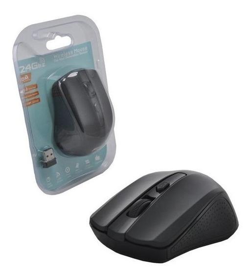 Mouse Wireless Sem Fio 1600dpi 2.4ghz G-211 Preto
