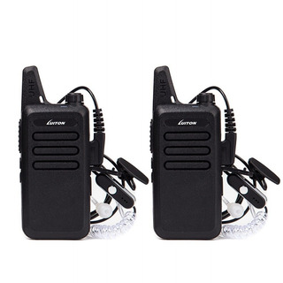 Mini Walkie Talkies Con Auricular Recargable P/niños 2 Uds