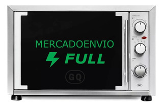 Horno Electrico Tst Donna 48 Lts - Grill - Acero Inoxidable