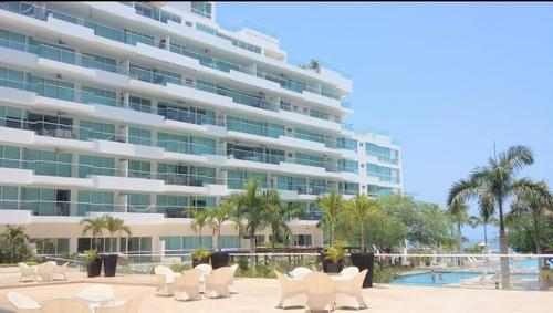 Imagen 1 de 14 de Apartamento En Primera Linea - Playa Dormida Bello Horizonte - 005