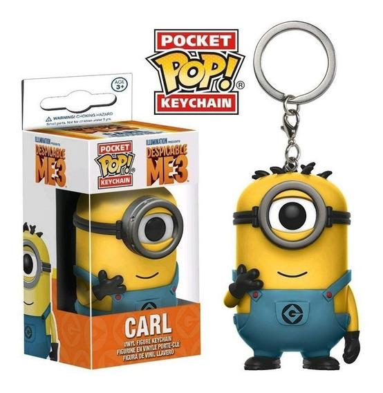 Funko Pop Pocket Keychain Llavero Despicable Me Carl Minios
