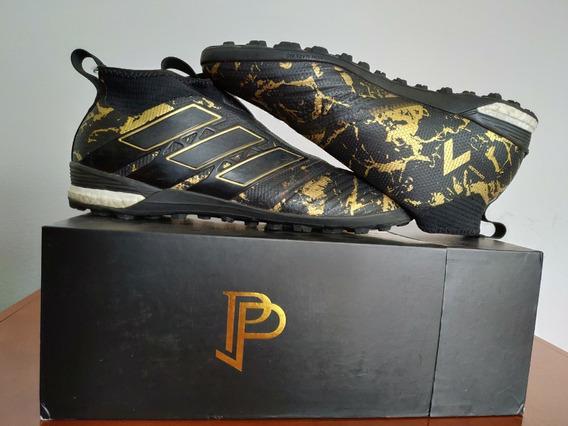 Chuteira Society adidas Paul Pogba Ace 17+ Tango Purecontrol