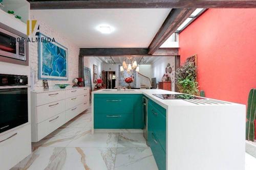 Casa À Venda, 3 Dorms, 142 M² Por R$ 1.890.000 - Higienópolis - São Paulo/sp - Ca5339