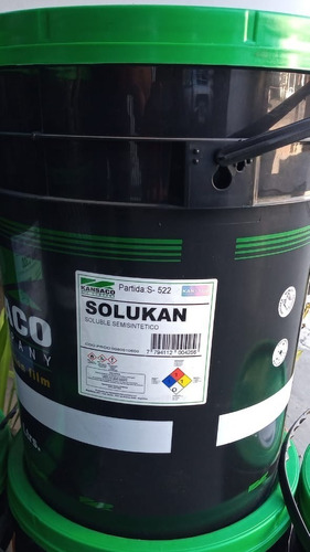Soluble Mecanizado Semisinteico - Kansaco Balde 20lt Solukan