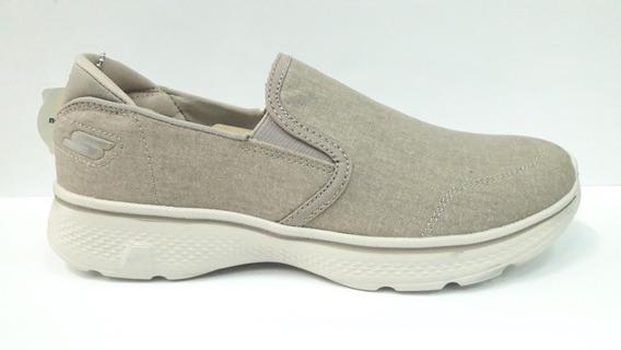 Zapatillas Skechers Go Walk 4 Khk 54681 Envío A Todo El País