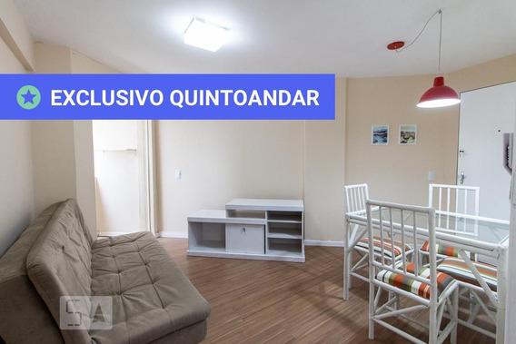 Apartamento No 7º Andar Mobiliado Com 2 Dormitórios E 1 Garagem - Id: 892953014 - 253014